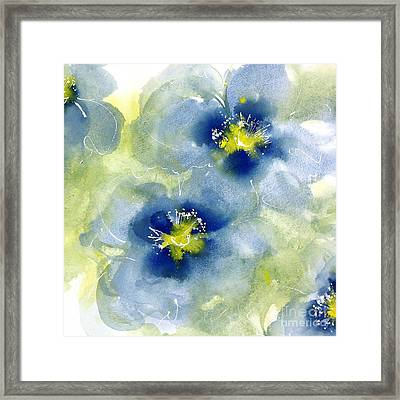Cool Poppies 1 Framed Print