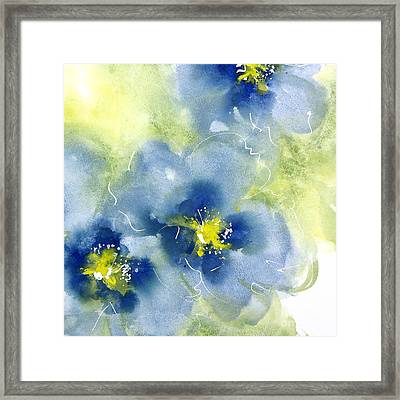 Cool Poppies 2 Framed Print