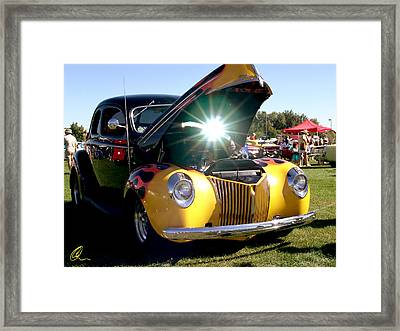 Cool Ride Framed Print by Chris Thomas