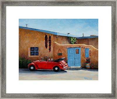 Cool Ride Framed Print by Mary Giacomini
