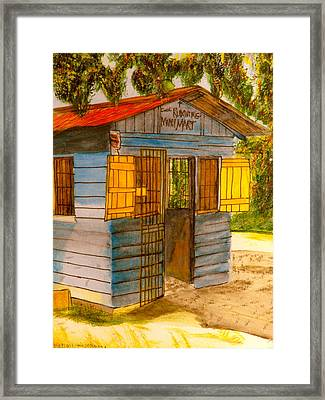 Cool Runnings Mini Mart Framed Print