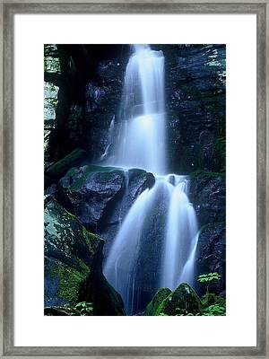 Framed Print featuring the photograph Cool Sanctuary by Rodney Lee Williams