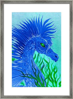 Cool Sea Horse Framed Print