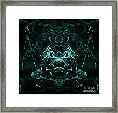 Framed Print featuring the digital art Cool Shades by Clare VanderVeen
