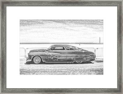Cool Stance Framed Print by Thomas  MacPherson Jr