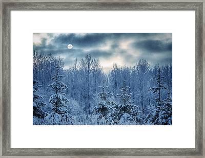 Cool Sunrise Framed Print