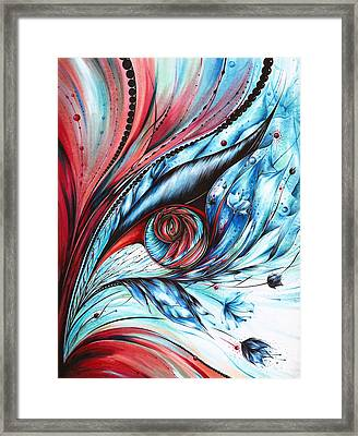 Cool Synergy Framed Print