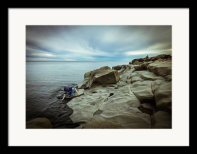 Magic To The Touch Lake Superior Brighton Beach Duluth Nature Greeting Framed Prints