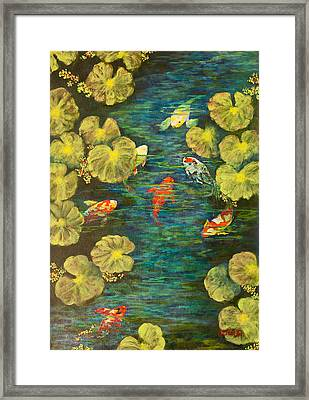 Cool Water Sanctuary Framed Print by Annie St Martin