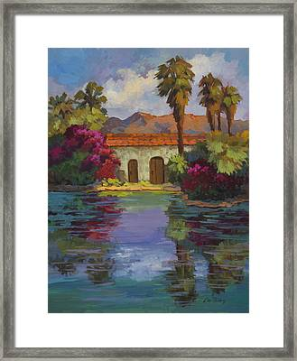 Cool Waters 2 Framed Print by Diane McClary