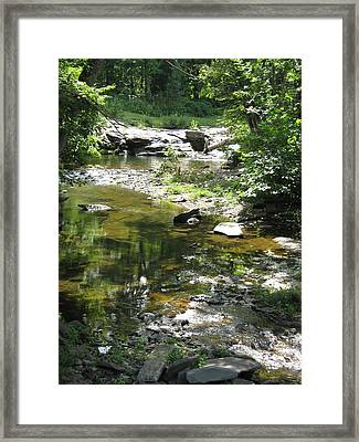 Framed Print featuring the photograph Cool Waters by Ellen Levinson