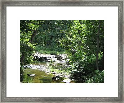 Framed Print featuring the photograph Cool Waters II by Ellen Levinson