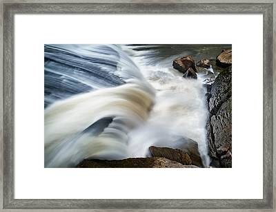 Cooleemee Falls 2 Framed Print by Patrick M Lynch