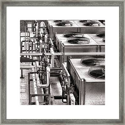 Cooling Force Framed Print by Olivier Le Queinec