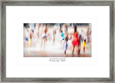 Cooling Off Framed Print by Doug Sturgess
