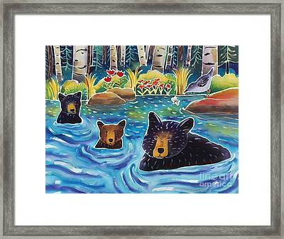 Cooling Off Framed Print by Harriet Peck Taylor