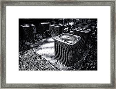 Cooling Power Framed Print
