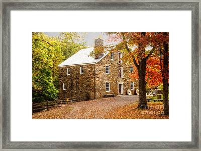 Cooper Gristmill Framed Print