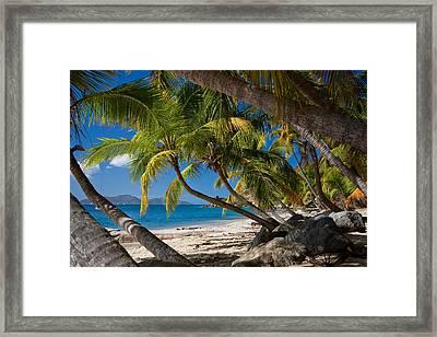 Cooper Island Framed Print
