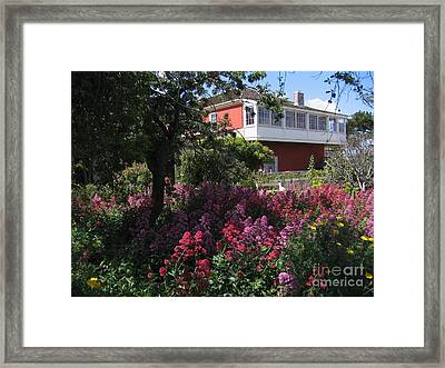 Cooper-molera Garden Framed Print
