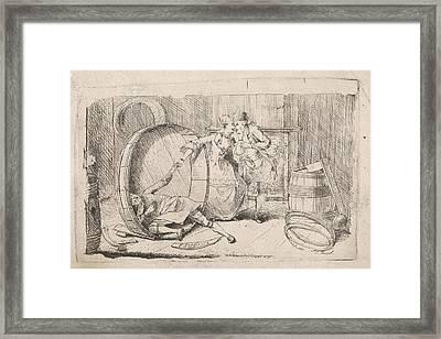 Cooper, P. Tonnet Framed Print by P. Tonnet