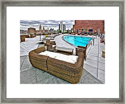 Cooper Roof Framed Print