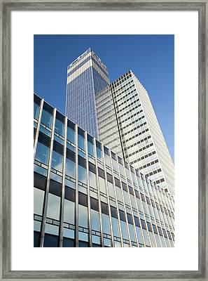 Cooperative Cis Tower Framed Print by Ashley Cooper