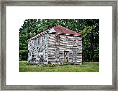 Framed Print featuring the photograph Cooper's Academy by Linda Brown