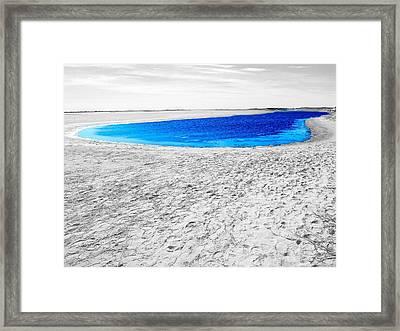 Coorong Sandy Bay Framed Print