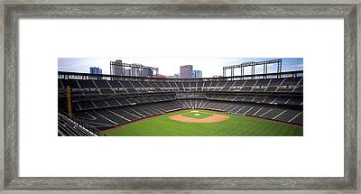 Coors Field Denver Co Framed Print by Panoramic Images