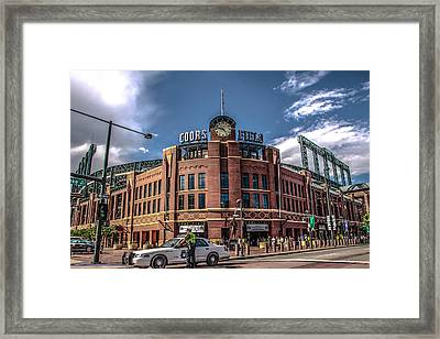 Colorado Rockies Framed Print