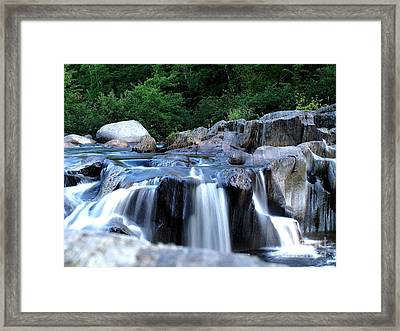 Coos Canyon Maine Framed Print