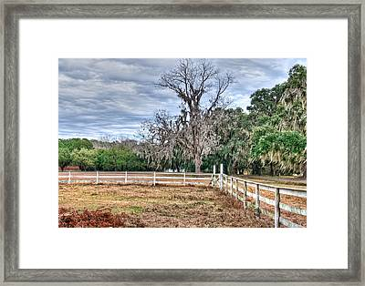 Coosaw - Cloudy Day Framed Print by Scott Hansen