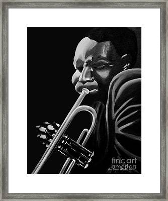 Cootie Williams Framed Print by Barbara McMahon