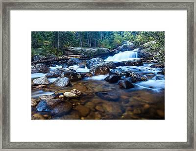 Copeland Falls 3 Framed Print