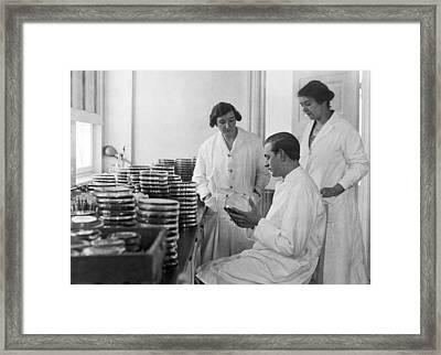 Copenhagen Serum Institute Framed Print by Underwood Archives