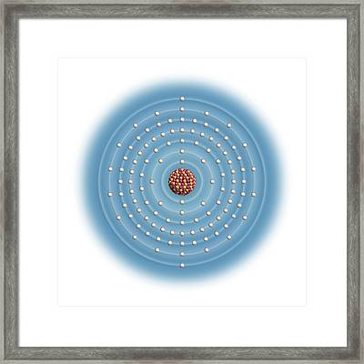 Copernicium Framed Print by Carlos Clarivan