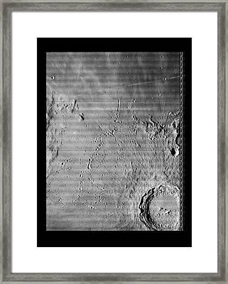 Copernicus Lunar Crater Framed Print