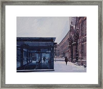 Copley Winter Framed Print by Deb Putnam