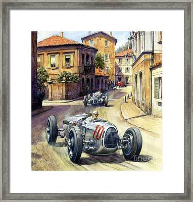 Coppa Acerbo - Poster Framed Print by Pg Reproductions
