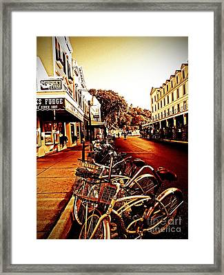 Copper And Rust Framed Print