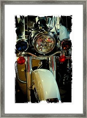 Copper Chopper Framed Print by David Patterson