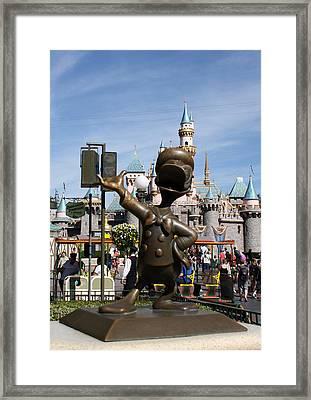 Copper Donald Framed Print by David Nicholls