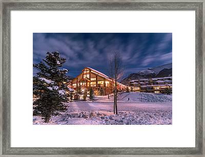 Copper Mountain East Village Framed Print