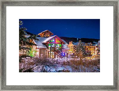 Copper Mountain Pub Framed Print by Michael J Bauer
