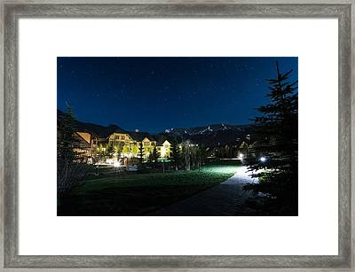 Copper Mountain Village Framed Print by Michael J Bauer
