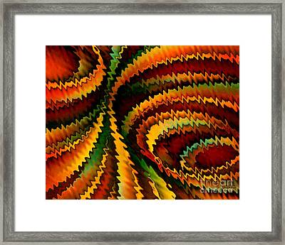Copper Patina Framed Print by David K Small