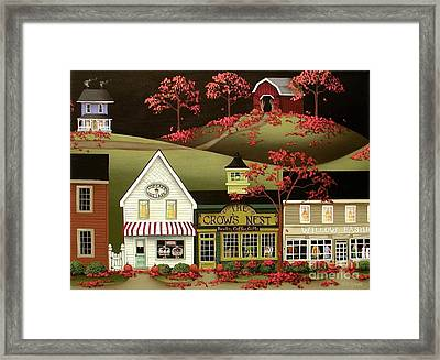 Copper Springs Framed Print by Catherine Holman