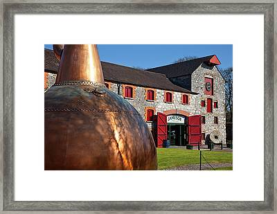 Copper Still At Midleton Whiskey Framed Print by Panoramic Images