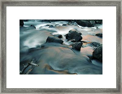 Copper Stream 1 Framed Print